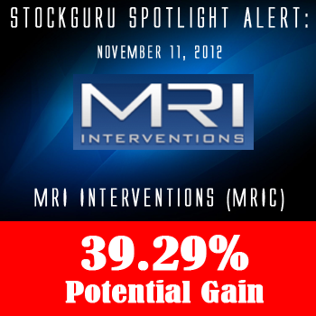 Spotlight Success Update: MRI Interventions (MRIC) with a Potential Gain of 39.26%