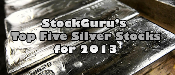 Our Five Top Silver Mining Penny Stocks