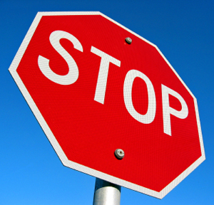 Stop Sign Stocks with News