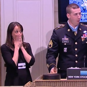 Did you see the Medal of Honor Recipient Break the Gavel at the NYSE? See it…