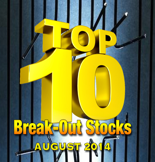 Ten Possible Break-out Stocks for August: $OKME $HECC $STHC $CDOI $AMBS $DNAX $FITX $FITX $TBEV $SLTD $PEII