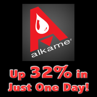 Spotlight Stock $ALKM Up 32% in One Day #StockGuru