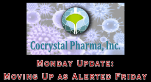 Monday Break-out Stock: COCP Cocrystal Pharma – UPDATE