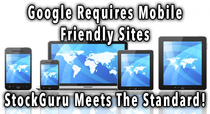 StockGuru Mobile Web Stats