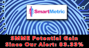 Update SMME: Alerted on April 15th, SmartMetric is up 83.33%
