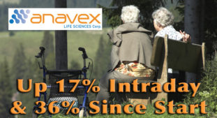 Profile Stock Anavex Life Sciences (AVXL) Up 17% Today and 36% After Coverage Start