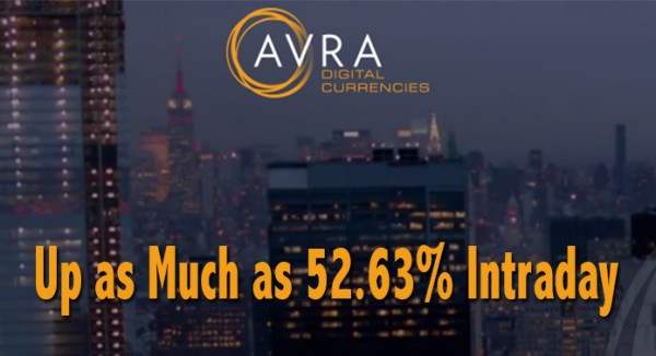 Tuesday Alert: Yesterday – Against a Down Market – Profile Stock AVRN is Up as Much as 52.63%