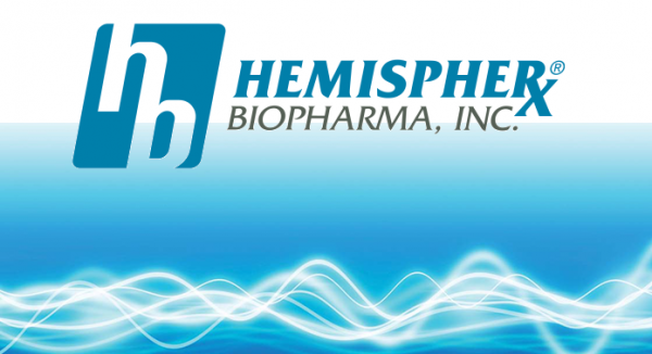 Breaking News: Hemispherx Biopharma (NYSE MKT: HEB)