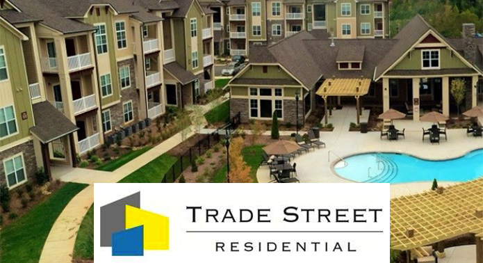 Trade Street Residential Declares Pro-Rated Third Quarter Dividend of $0.082 Per Share