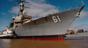 Huntington Ingalls Industries Selected To Perform Overhaul Work On USS Ramage (DDG 61)