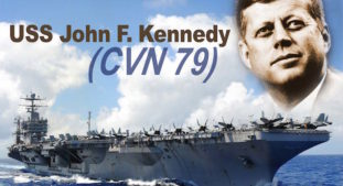 Huntington Ingalls Industries Continues to Make Strides on Aircraft Carrier John F. Kennedy (CVN 79)